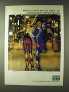 1979 American Express Ad - Take To Bloomingdale's