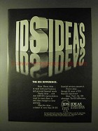 1979 IDS Investors Diversified Services Ad - Ideas