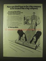 1979 Metropolitan Life Insurance Ad - Be Treated Like