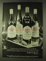 1979 Christian Brothers Wine Ad - Gewurztraminer