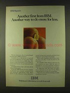 1979 IBM Computers Ad - Another First From IBM