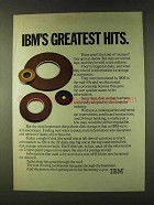 1979 IBM Computers Ad - IBM's Greatest Hits