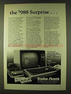 1979 Radio Shack TRS-80 Computer Ad - The Surprise