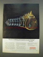 1979 Conoco Oil Ad - Nothing Permanent Except Change