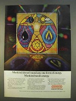 1979 Conoco Oil Ad - Mankind Needs Energy