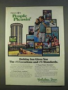1979 Holiday Inn Ad - #1 in People Pleasin'