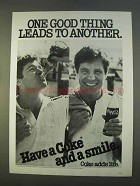 1979 Coca-Cola Soda Ad - One Good Thing Leads To