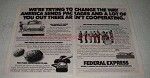 1979 Federal Express Ad - Change Way America Sends