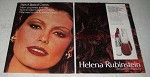 1979 Helena Rubinstein Cognac Colors Lipstick & Nail Ad