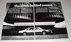 1979 BMW Cars Ad - The Ideals Behind Success