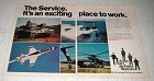 1978 U.S. Army, Navy, Air Force and Marines Ad