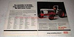 1978 Case 1410 Low Profile Tractor Ad - Specialize