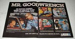 1978 GM Mr. Goodwrench Service Ad - More Than Fixing