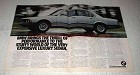 1978 BMW 733i Car Ad - Thrill of Performance