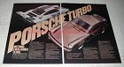 1976 Porsche 935 Racing Car and Turbo Carrera Ad