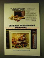 1979 Litton Meal-in-One Microwave Ad - All at Once