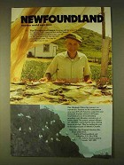 1979 Newfoundland Canada Tourism Ad - Another World