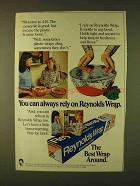 1979 Reynolds Wrap Aluminum Foil Ad - Always Rely On