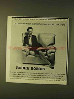 1979 Roche Bobois Furniture Ad - Exciting