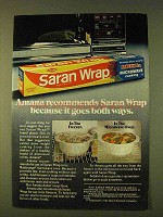 1979 Saran Wrap Ad - Amana Recommends