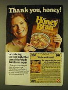 1979 Ralston Honey Bran Cereal Ad - Thank You, Honey