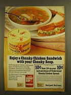 1979 Campbell's Chunky Soup & Underwood Chicken Ad