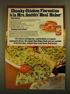1979 Campbell's Chunky Soup & Mrs. Smith's Pie Shell Ad