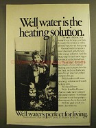 1979 Franklin Electric Ad - Well Water is the Solution