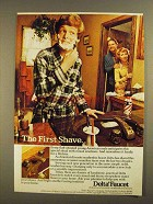 1979 Delta Faucet Ad - The First Shave