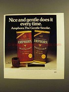1979 Douwe egbert Amphora Pipe Tobacco Ad - Gentle
