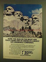 1979 Lincoln National Life Ad - Name Man on the Right