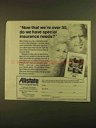 1979 Allstate Insurance Ad - Now That we're Over 50