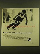 1979 U.S. Ski Educational Foundation Ad - Bring Gold