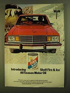 1979 Shell Fire & Ice All Season Motor Oil Ad