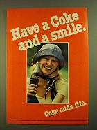 1979 Coca-Cola Soda Ad - Have Coke and a Smile