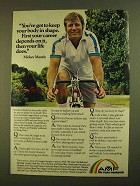 1979 AMF Bicycle Ad - Mickey Mantle