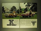 1979 Volkswagen Dasher Diesel Wagon and Hatchback Ad