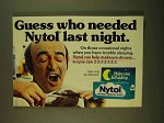 1979 Nytol Sleep Aid Ad - Guess Who Needed