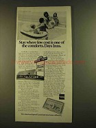 1980 American Express Card and Days Inn Ad