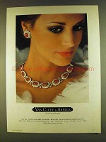 1980 Van Cleef & Arpels Necklace and Earrings Ad
