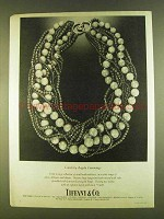 1980 Tiffany & Co. Corals Angela Cummings Necklace Ad