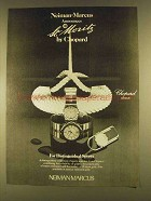 1980 Chopard St. Moritz Watches Ad - For Sports