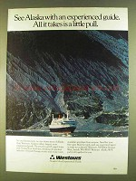 1980 Westours Alaska Ad - See With Experienced Guide