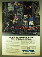 1980 Vespa Grande Moped Ad - The More You Know