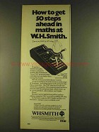 1980 WHSmith Texas Instruments TI57 Calculator Ad