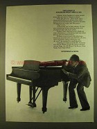 1980 Steinway Pianos Ad - Open Her Up and Hear