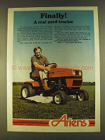 1980 Ariens Yard Tractor Ad - Finally!