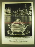 1980 Mazzucato Tureen and Tray Ad - Pride of Italy
