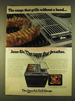 1980 Jenn-Air Grill-Range Ad - Grills Without a Hood