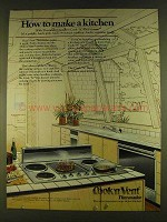 1980 Thermador Cook 'N' Vent Ad - Make a Kitchen